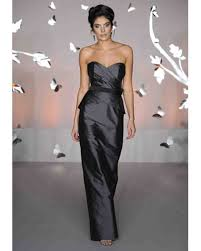 silver u0026 gray bridesmaid dresses martha stewart weddings