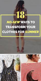 18 Cheap Ways To Make Your Old Clothes New Again