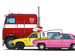 100 Pizza Planet Truck G1 Optimus Prime Truck And Homer Simpsons Car By
