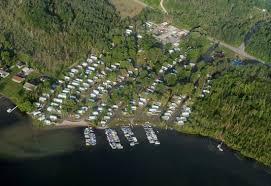 Lake Leelanau RV Park Aerial Shot From Above Our Resort
