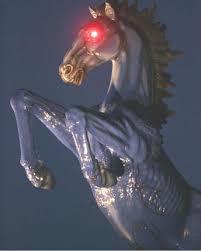 Denver International Airport Murals Horse by Occult Secrets At The Denver International Airport Uprizing Nation