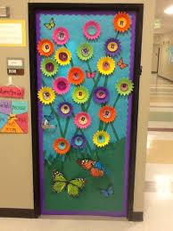 decorations interesting spring classroom door decor featuring