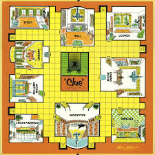 Vintage Board Game Clue 1963 It Was Mr Plum With The Knife In Dining Room Or Colonel Mustard Candlestick Kitchen