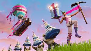 fortnite birthday event geburtstagskuchen die fundorte