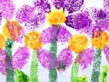 Easy Art And Craft Work For Kids Inspirational Sponge Painting Simple Ideas