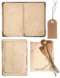vieux livre de cuisine ustensiles de cuisine en bois vintage vieux livre de recettes