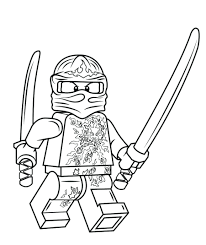 Free Printable Coloring Pages For Lego Ninjago Kai Cole Colouring
