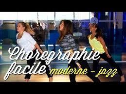 danse studio chorégraphie facile modern jazz