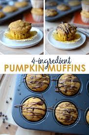 Libbys Pumpkin Pie Mix Muffins by 4 Ingredient Gluten Free Pumpkin Muffins Fit Foodie Finds