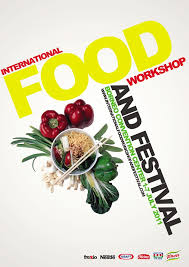 Concept Of International Food Event Poster By Frendy Wijaya At