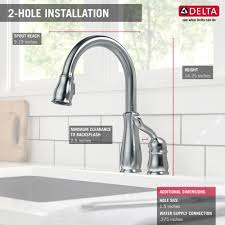 Delta Leland Kitchen Faucet Manual by Delta Faucet 978 Ar Dst Leland Arctic Stainless Pullout Spray
