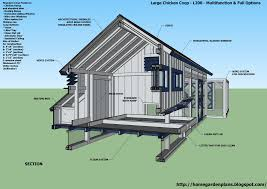 Layout Of Inside Chicken Co-op | L200 - Large Chicken Coop Plans ... Free Chicken Coop Building Plans Download With House Best 25 Coop Plans Ideas On Pinterest Coops Home Garden M101 Cstruction Small Run 10 Backyard Wonderful Part 6 Designs 13 Printable Backyards Walk In 7 84 Urban M200 How To Build A Design For 55 Diy Pampered Mama