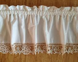 Battenburg Lace Curtains Ecru by Romantic Curtains Etsy