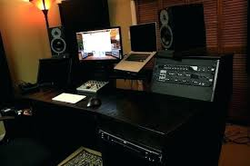 Cheap Home Music Studio Layout Recording Desk Medium Size Of Fresh Q S
