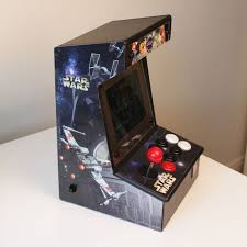 bartop mini retro arcade raspberry pi and customised icade 12