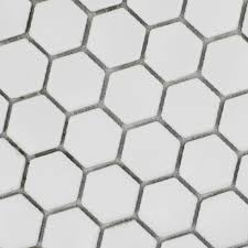 white hexagon floor tiles patterns ceramic porcelain mosaic tile