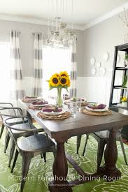Modern Farmhouse Fall Dining Room Refresh