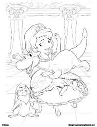 Valuable Design Sofia The First Coloring Pages Free Printable