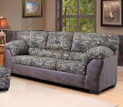 Bob Mackie Living Room Furniture by Duck Commander Sofa In Camouflage Fabric The Duck Commander