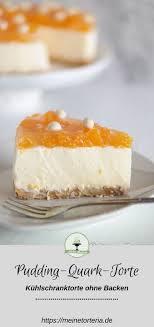 pudding quark torte