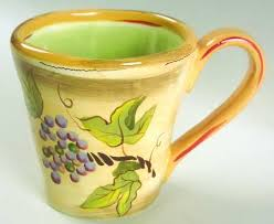 Clay Art Rustic Vines Mug