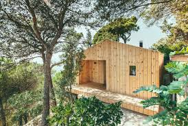100 Tree House Studio Wood Dom Arquitectura Archello