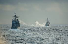 Uss America Sinking Photos by Sna Navy Surface Leaders Pitch More Lethal Ships Surface Action