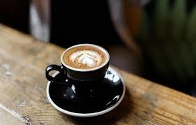 Photo Wallpaper Table Black Figure Color Coffee Plate Mug