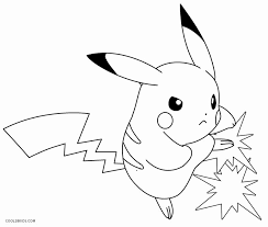 Pikachu Coloring Pages For