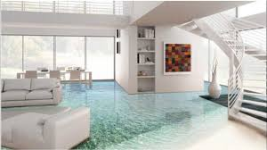Epoxy Floor Interior Design Ideas