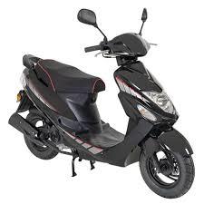 gmx 460 sport roller scooter 25 km h mofa schwarz 4