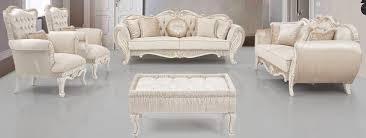 casa padrino luxus barock wohnzimmer set beige creme gold 2 sofas 2 sessel 1 beistelltisch wohnzimmer möbel im barockstil edel