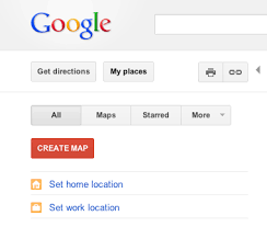 Google Lat Long Quickly access your home and work locations in