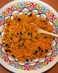 couscous pfanne mit cranberries