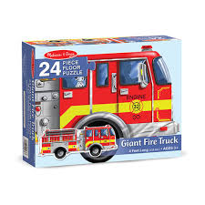 100 Melissa And Doug Trucks Floor Puzzle Giant Fire Truck 0436 Butterfly 7