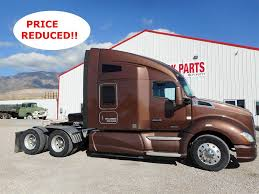 2013 Kenworth T660 Sleeper Semi Truck, Cummins ISX, 450HP, 13 Spd ...