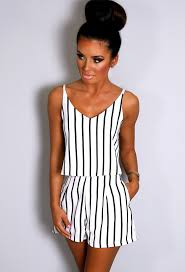 white and black striped shorts pink boutique