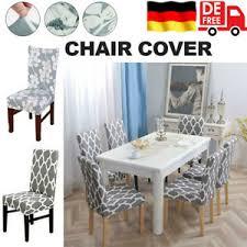 details zu 2 4 6 x stuhlhussen stuhlüberzug stretch stuhlbezug stuhlhusse husse esszimmer