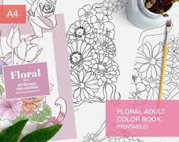 Floral Adult Coloring Book Pdf