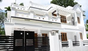 Beautiful Kerala Home Jpg 1600 Kalady 6 Cents Plot And 2200 Sq Ft Beautiful House For Sale In