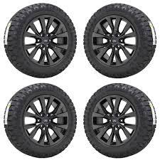 100 Black And Chrome Rims For Trucks 20 FORD F150 TRUCK BLACK CHROME WHEELS RIMS TIRES FACTORY OEM SET