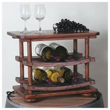 Under Cabinet Stemware Rack Walmart by Vintage Wooden Wine Rack Wine Rack Above Fridge Wine Storage Above