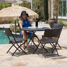 Details About 5PC Outdoor Patio Resin Wicker Deck Lawn Dining Rattan Chairs  & Table Furniture Outdoor Wicker Chairs Table Cosco Malmo 4piece Brown Resin Patio Cversation Set With Blue Cushions Panama Pecan Alinum And 4 Pc Cushion Lounge Ding 59 X 33 In Slat Top Suncrown Fniture Glass 3piece Allweather Thick Durable Washable Covers Porch 3pc Chair End Details About Easy Care Two Natural Sorrento 5 Cast Woven Swivel Bar 48 Round Jeco Inc W00501rg Beachcroft 7 Piece By Signature Design Ashley At Becker World Love Seat And Coffee Belham Living Montauk Rocking