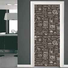 porte de cuisine sticker porte cuisine texte le51