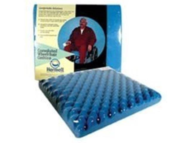 Hermell Products Egg Crate Wheelchair Cushion - 3""