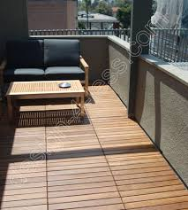 ipe wood deck tiles 12x24 installation photo at design for less