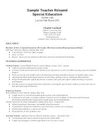Sample Resume Education Section How To Format On Example Template