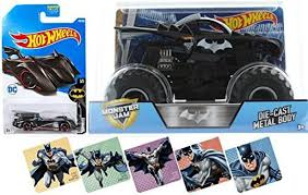 100 Monster Truck Batman AYB Products Pack Jam Hot Wheels 124 Comic Car