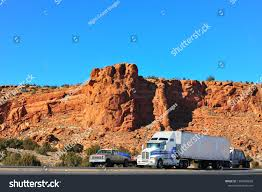 100 Southwest Truck And Trailer Tractor Pickup Towing Stock Photo Edit