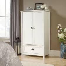Sauder Shoal Creek Dresser Soft White by Wood Armoire Sauder Orchard Hills Armoire Carolina Oak